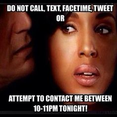 FOR REAL!!! NOTHING....well, i will be on fb...lol...#SCANDALTHURS!!! #DONOTDISTURBBTN10AND11 #SEASONFINALE
