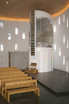 Vleugels Orgelbau; Kreuz, Germany; 2007, II/26 Architecture Details, Modern Architecture, Kirchen, Musical Instruments, Modern Design, Innovation, Celestial, Sweet Sweet, Facades