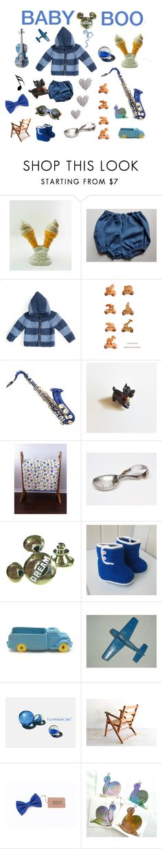 """Baby Boo"" by seasidecollectibles ❤ liked on Polyvore featuring Disney, Music Notes, Ray-Ban and vintage"