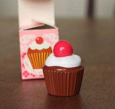 Had one!   Vintage Avon Cupcake perfume bottle