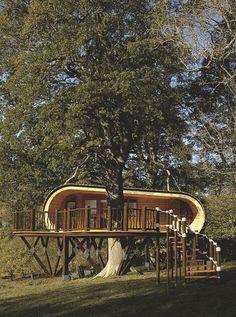Avec sa terrasse de rêve. Une cabane comme une bulle pour s'évader - L'esprit cabane - CôtéMaison.fr
