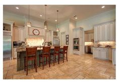 This kitchen provides a ton of space for everyday usage and entertaining needs. Covington, LA $1,299,000