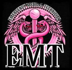 Pink EMT logo