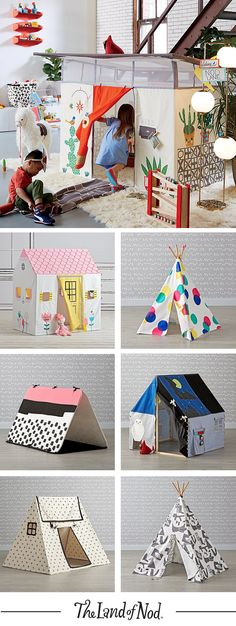 Make yourself at home with the best collection of kids playhouses and teepees on the block.