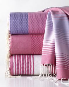 We have a fouta towel obsession!