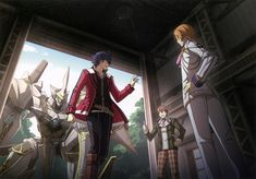 Military Officer, Military Academy, Trails Of Cold Steel, The Legend Of Heroes, Anatomy For Artists, Ymir, Blue Flames, Nihon, Knight