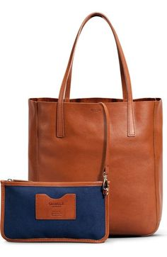 Shinola Medium Leather Shopper Tote available at #Nordstrom