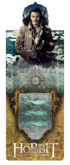The Hobbit Magnetic Bookmark - The Desolation of Smaug - Bard The Bowman
