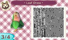 khn-acnl: An anon asked me on my theme blog to release the QR code for what I was wearing in the TPC theme, so here it is! I'm glad you like it anon ♥