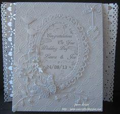 pamscrafts: Wedding card
