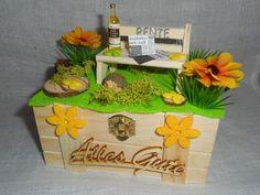 Gastgeschenke - Geschenkbox / Geldgeschenk Rente,Pension,Ruhestand - ein Designerstück von Bastelmaus--- bei DaWanda