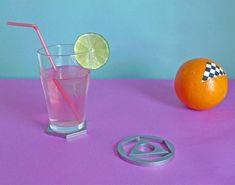 Prism as drink coaster