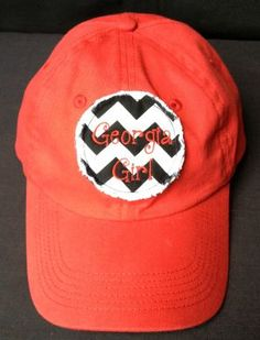 dc62ec70cd7 Georgia Girl Cap Georgia Girls