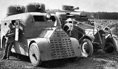 """Чешский бронеавтомобиль на шасси ,, Фиат 18BL""""."""