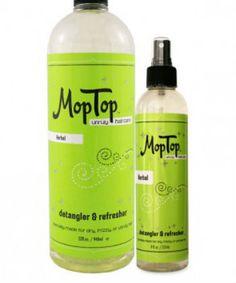 mop top herbal detangler