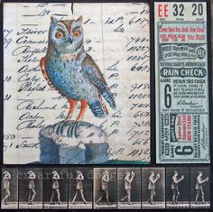 Posts about ephemera written by Wilma Millette Lower Deck, Bird Drawings, Vintage Birds, Illustrations, Dodgers, Ephemera, Rooster, Moose Art, Collage