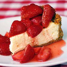 Strawberry Cointreau Sour Cream Custard Flan - if you can stir ingredients together you can make this super easy creamy flan.