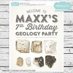 566eb13c58d6b449f5d74ffba5d8e479 party signs birthday party invitations geology rocks birthday party invite! my creations pinterest,Geology Birthday Party Invitations