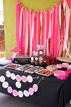 Little Lady Pink Ladybug Party | CatchMyParty.com