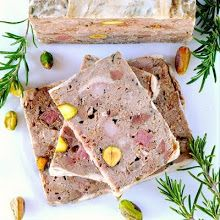 Country Pate with Gluten and Dairy Free Panade Chicken Liver Pate, Chicken Livers, Chicken Bacon, Mousse, Pate Recipes, Cooking Recipes, Terrine Recipes, Country Pate, Chicken Terrine