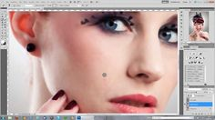 Hautbearbeitung / Beauty-Retusche in Photoshop CS5