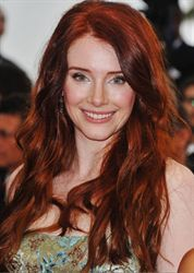 Bryce Dallas Howard's Rich Velvety Red  Natural Level: 6  Formula A:  Redken Color Fusion 1 oz. 5Cr + 1 oz. 7Cc + 2 oz. 20 volume developer.  Apply to new growth.  Formula B:  Redken Shades EQ Cover Plus 2 oz. 6Cc + 20 volume developer.