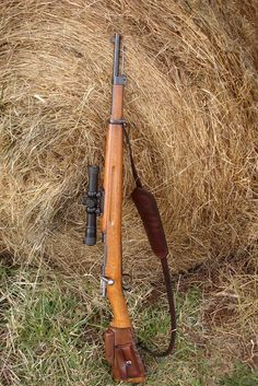 M38 Swedish Mauser #518 Big Guns, Cool Guns, Weapons Guns, Guns And Ammo, Scout Rifle, Leather Rifle Sling, Sniper Rifles, Battle Rifle, Bolt Action Rifle