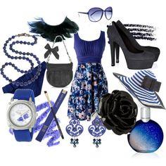 Everything Blue.