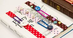 Read In Style With These Adorable Ribbon Bookmarks!