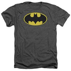 """Checkout our #LicensedGear products FREE SHIPPING + 10% OFF Coupon Code """"Official"""" Batman / Classic Bat Logo - Adult Heather - Batman / Classic Bat Logo - Adult Heather - Price: $34.99. Buy now at https://officiallylicensedgear.com/batman-classic-bat-logo-adult-heather"""