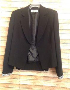52a0cd56ee2 tahari womens black skirt suit size 10  Tahari  SkirtSuit  career   CareerCasual Black