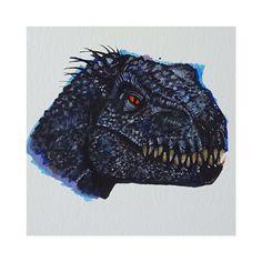 Close up 😱😱😱 Jurassic World Fallen Kingdom, Falling Kingdoms, Dinosaur Art, Jurassic Park, Prismacolor, Close Up, Lion Sculpture, Statue, Dinosaurs