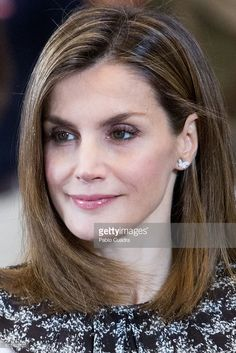 Queen Letizia attends several audiences at Zarzuela Palace on July 15, 2016 in Madrid, Spain.