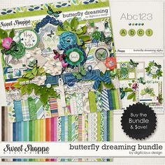 Butterfly Dreaming Bundle by Digilicious Design