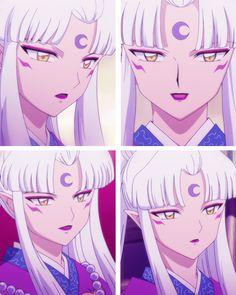 Sesshomaru's demon mother (Inu Kimi) - screenshots from InuYasha: The Final Act