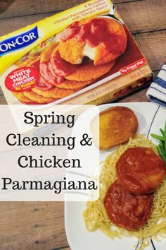 Spring Cleaning & Chicken Parmagiana #CountOnCor #OvenTimeTips (& Giveaway Ends 4/2) - Mom and More