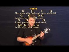 Amazing Grace - Mandolin Cover Lesson with Chords/Lyrics - YouTube