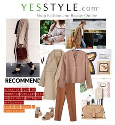 """""""Street style with YesStyle"""" by miss-maca ❤ liked on Polyvore featuring OrangeBear, RGLT Scarves, Lirikos, ANS, StreetStyle, hoodie, sweatshirts and yesstyle"""