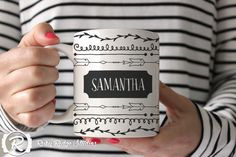 Personalised Name Coffee Mug, Tea Cup, Ceramic Mug, Custom Name Mug, Personalised Gift, Christmas Gift, Under 50