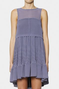 Cool and different cut. (Kingston Pleated Dress | CAMILLA AND MARC | MOSAICPR)