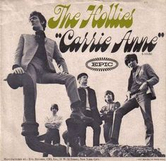 - The Hollies - Carrie Anne 60s Music, Music Radio, Rock And Roll Bands, Rock N Roll Music, Make Mine Music, Music Is Life, Music Album Covers, Vinyl Cover, Blues Rock