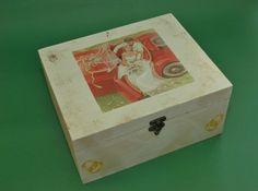 Wedding Box (48 LEI la pia792001.breslo.ro) Wedding Boxes, Gift Boxes, Decorative Boxes, Gifts, Home Decor, Presents, Decoration Home, Wine Gift Sets, Room Decor