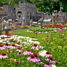 Hartman Rock Garden, folk art site, Springfield, Ohio