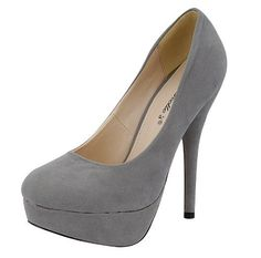 Only one left size 8 $24.99  Angie-21, Women, Platform heel pump, Grey, Size 8 Breckelles, http://www.amazon.com/dp/B0053VJOHQ/ref=cm_sw_r_pi_dp_VO2rqb00Z0KWA