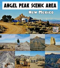 Camping and Hiking at Angel Peak Scenic Area in New Mexico Information Photos and Video Footage from the Love Your RV blog - http://www.loveyourrv.com/camping-angel-peak-scenic-area/