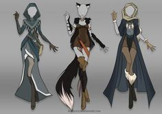 (OPEN) Adoptable Outfit Auction 19 by Risoluce