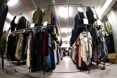 Dresses at the Tirelli deposit of Formello on February 2015 in. Wardrobe Rack, Clothes, Dresses, Accessories, Outfits, Vestidos, Clothing, Kleding, Outfit Posts
