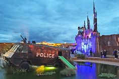 Inside Banksy's Dismaland Photos | Architectural Digest