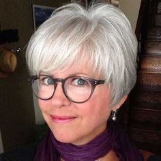 80 Best Modern Hairstyles and Haircuts for Women Over 50 Gray Pixie Bob For Fine Hair Bob Hairstyles For Fine Hair, Mom Hairstyles, Modern Hairstyles, Short Hairstyles For Women, Glasses Hairstyles, Natural Hairstyles, Pixie Haircuts, Asian Hairstyles, Bobs For Fine Hair