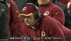 WATCH: Washington Redskins Defensive Coordinator Jim Haslett Clearing His Nose | FatManWriting